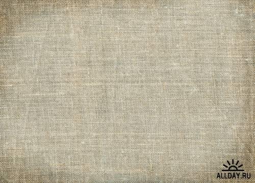 Тектуры холста  - Растровый клипарт | Texture canvas fabric - UHQ Stock Photo