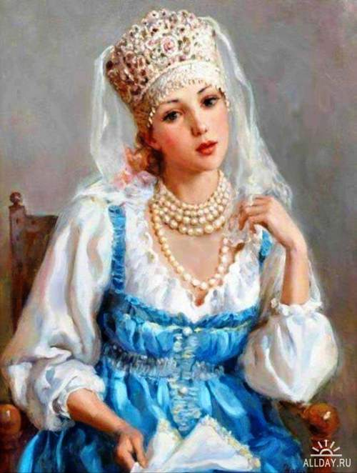 Русские красавицы Владислава Нагорнова