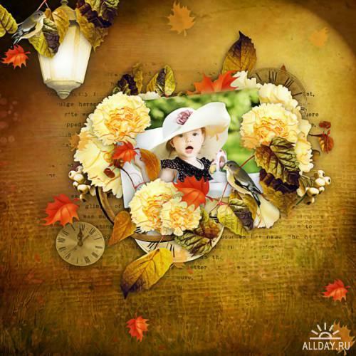 Скрап-набор - Softness Autumn