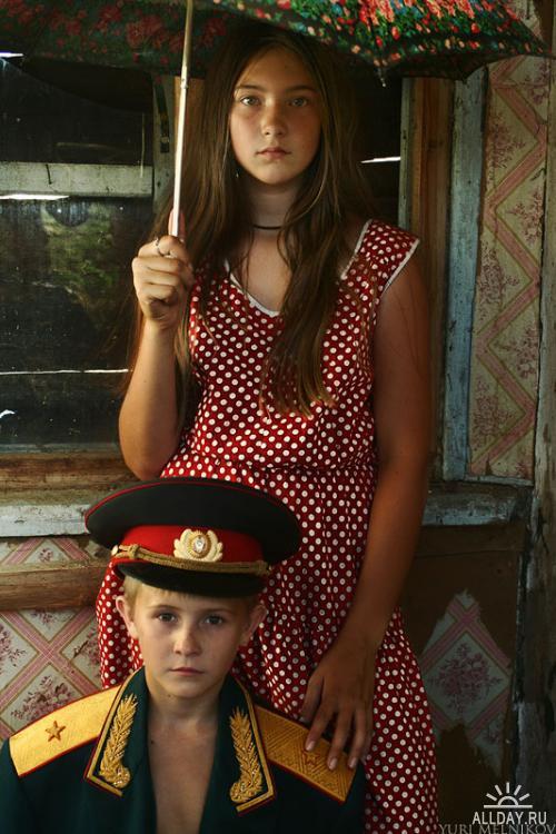 Портреты. Фотограф Юрий Мельников