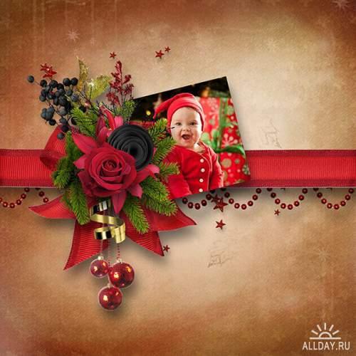 Scrap set - Wonderful Christmas