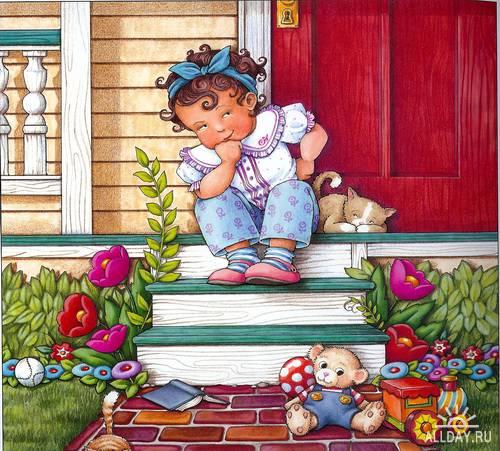 Иллюстратор Mary Engelbreit Monday