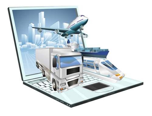 Промышленость и транспорт - Векторный клипарт   Industry and cargo - Stock Vectors