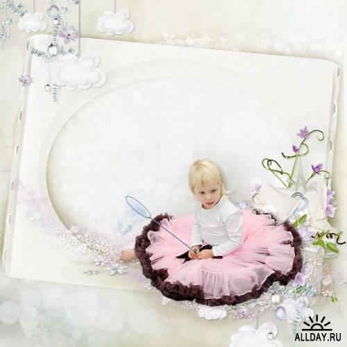 Скрап-набор Childhood secret