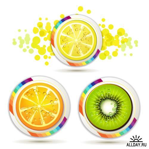Bright citrus slices