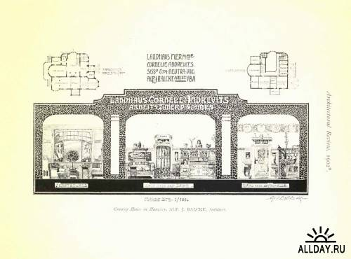 Academy architecture and architectural review. vol. 22