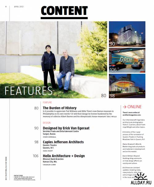 Architect - April 2012