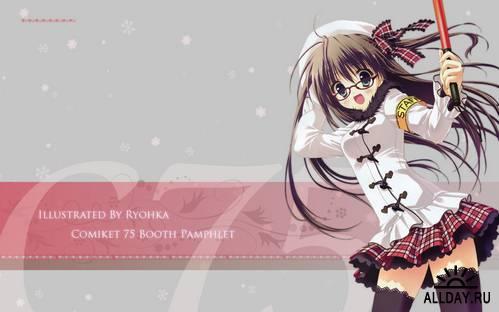 Обои Anime с девушками (3)