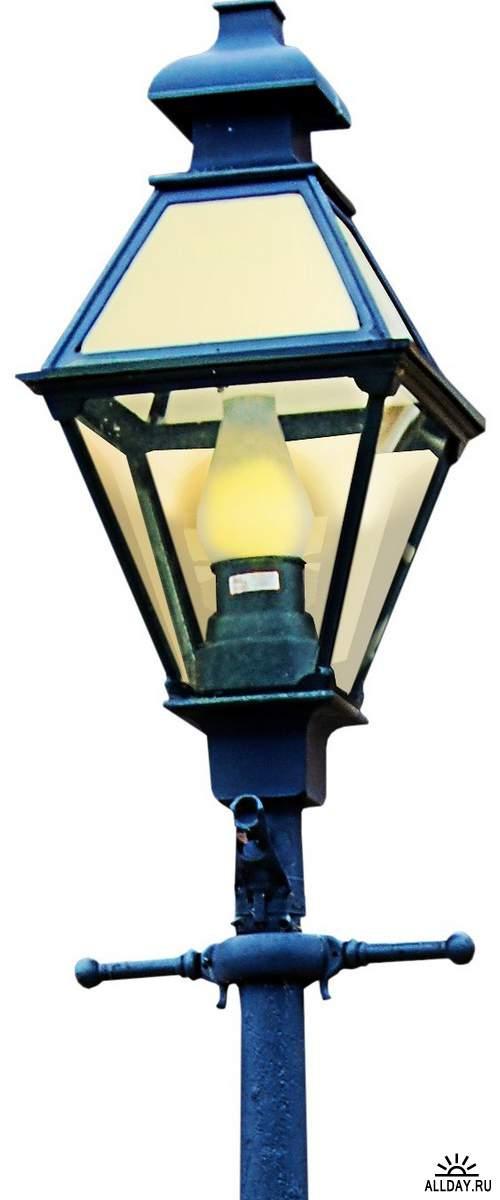 Lanterns and flashlights 2   Фонари и фонарики 2 - Набор элементов для коллажей
