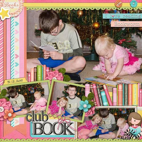 Скрап-набор  The Book Club