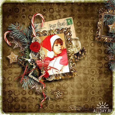Scrap kit  Vintage Christmas