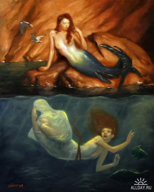 Работы художника - John Larriva