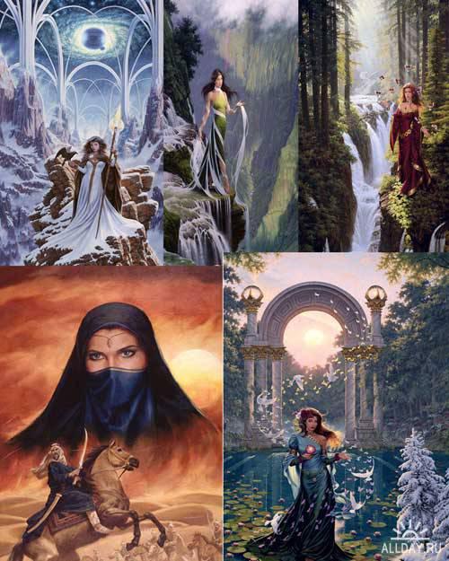 Мистические  картины  Джонатана Эрла  Баузера (Jonathon Earl Bowser)