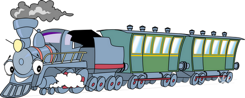 Cheerful Train Веселый поезд png