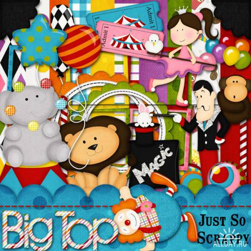 Scrap kit Big Top