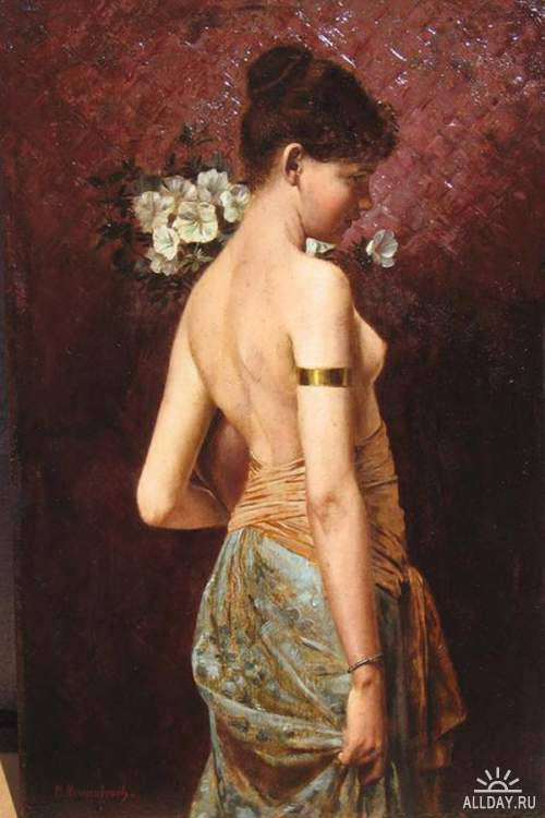 Художник Max Nonnenbruch (1857-1922)