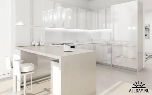 40 Bright Interior Design HD Wallpapers (Set 8)