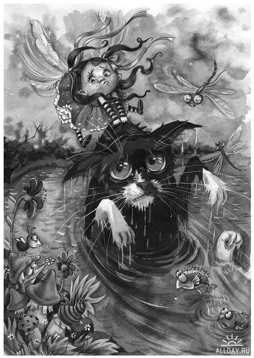 Иллюстрации Любы Ереминой