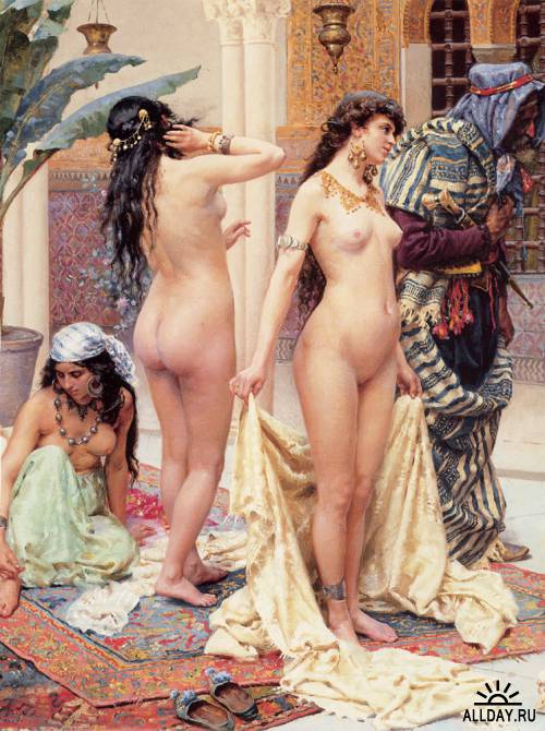 Картины западных художников маслом. Часть 24