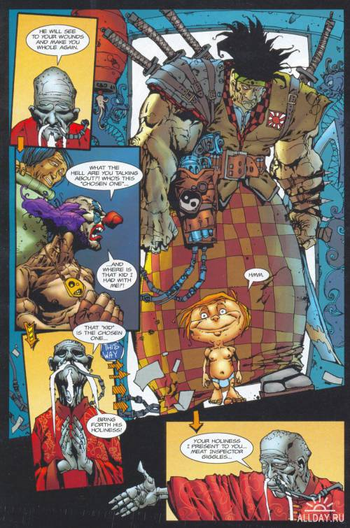 Ну очень хорошие комиксы-1. Dead Or Alive - A Cyberpunk Western