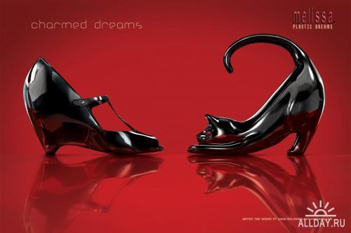 Современная реклама: Одежда и обувь. Часть 4