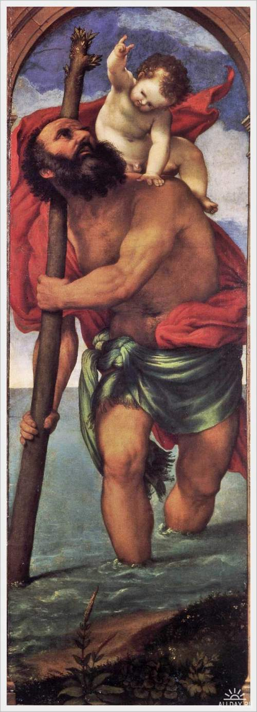 Святой Христофор - Sant Christopher