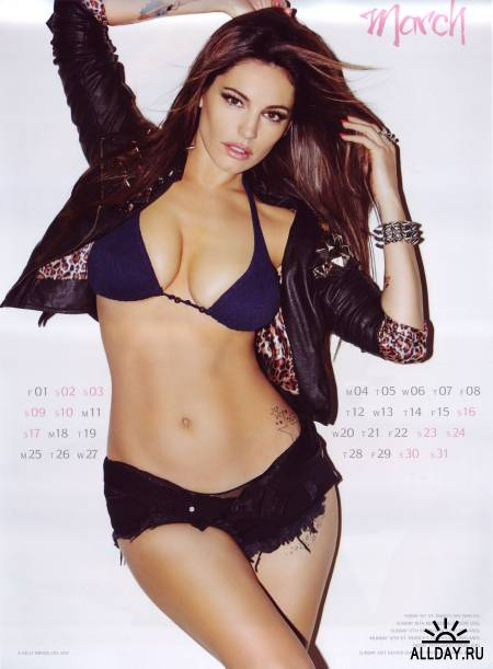 Kelly Brook - Official Calendar 2013
