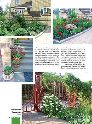 Ландшафт. Коттедж. Интерьер №15 (август 2012)