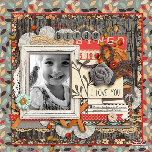 Scrap kit Fly Away With Me
