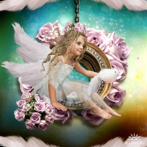 Скрап-набор Angel Love