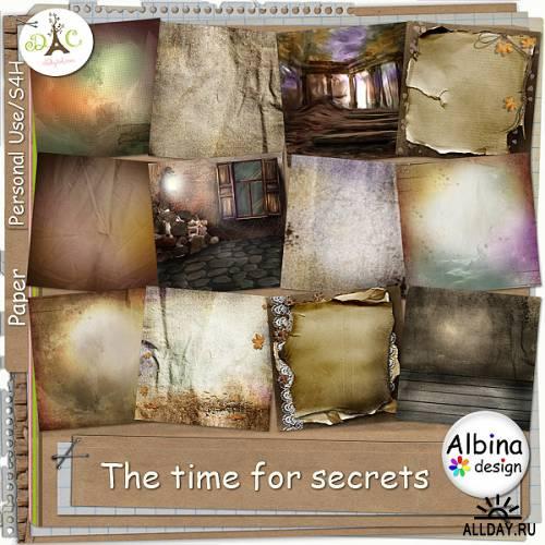 Scrap kit  Time For Secrets