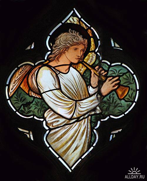 Stained Glass by Sir Edward Burne Jones (