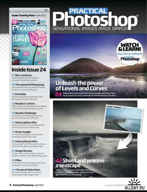 Practical Photoshop UK – April 2013