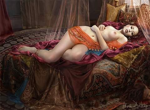 Картины Марты Дахлиг (фэнтези)