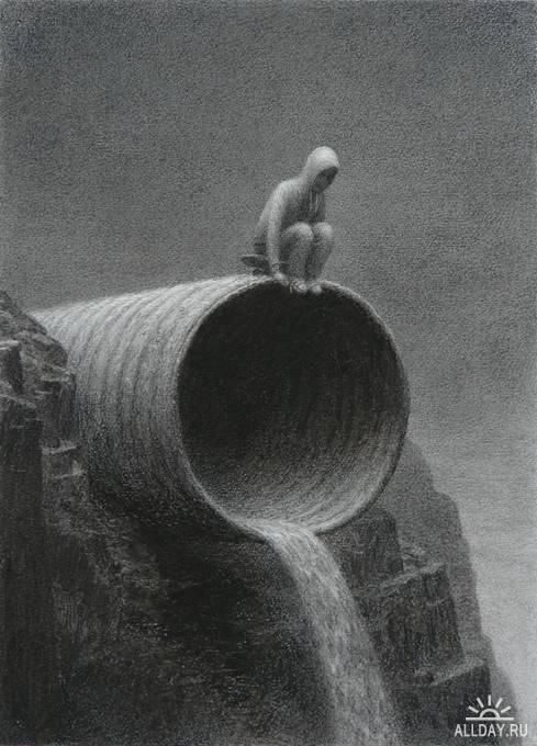 Иллюстрации ARON WIESENFELD