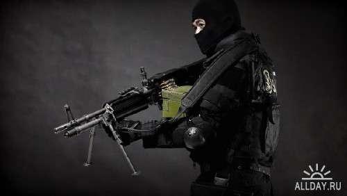 Обои с различными видами оружия на рабочий стол 29