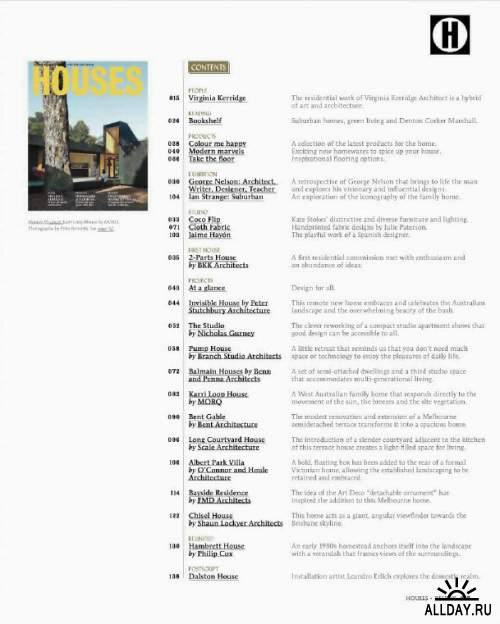 Houses Issue 95 2013