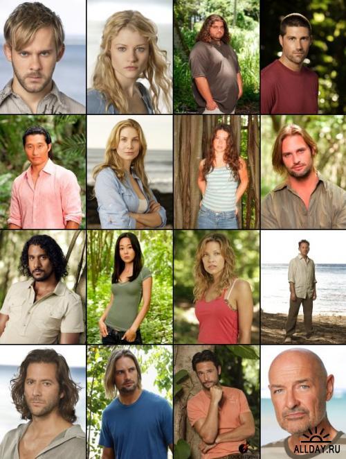 Коллекция постеров и промо-картинок к сериалу LOST (3 сезон) в высоком качестве