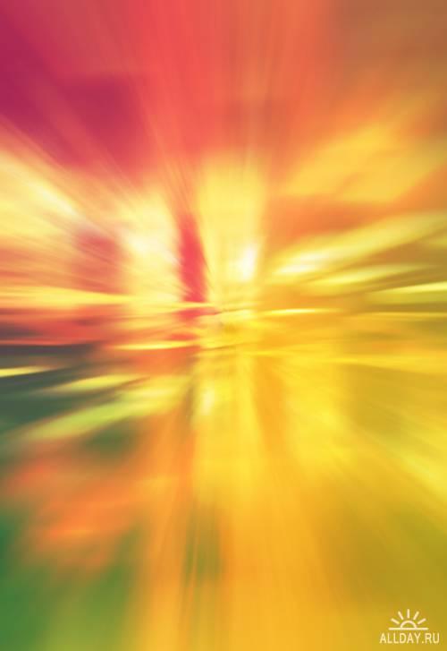 Неоновые фоны - растровый клипарт | Neon backgrounds - UHQ Stock Photo