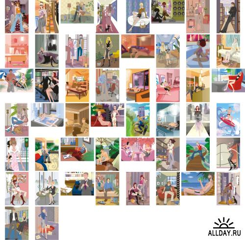 ImageDJ LA15 Illustration Vanity
