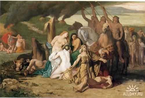 Художник Pierre Cecile Puvis Da Chavannes