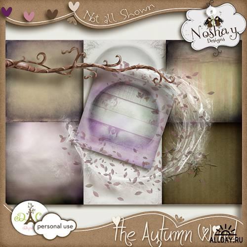 Скрап-набор The Autumn Wind
