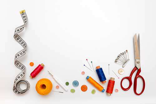 Рисунки с швейными принадлежностями
