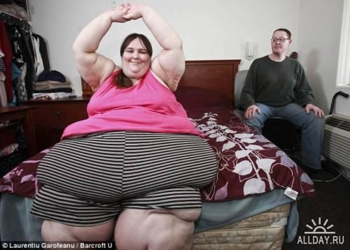 Сьюзен Эман - самая толстая женщина в Британии