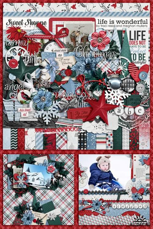 Скрап-наборы Christmas Stories и Life Is Wonderful