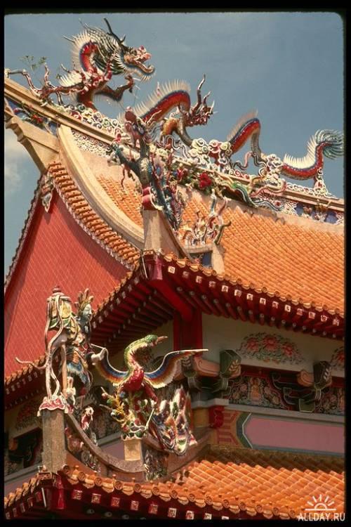 Клипарт - Old Singapore