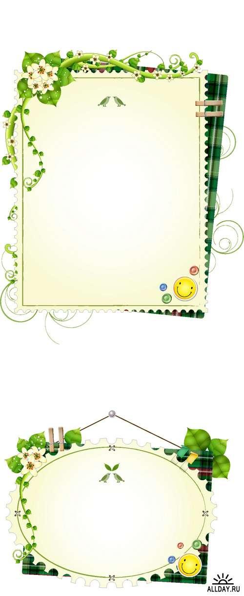 Floral Frames 4