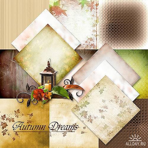 Скрап-набор – Autumn Dreams