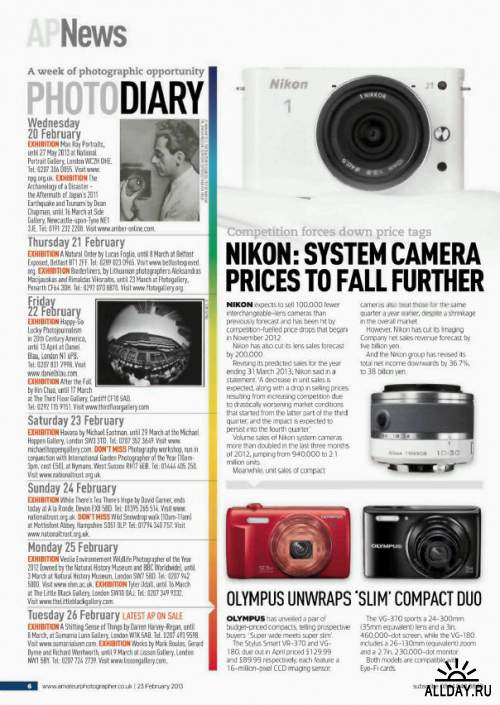 Amateur Photographer 23 February 2013