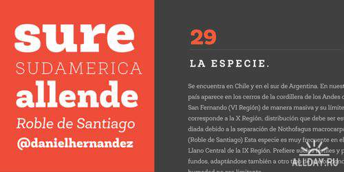 FONTS -  Latinotype